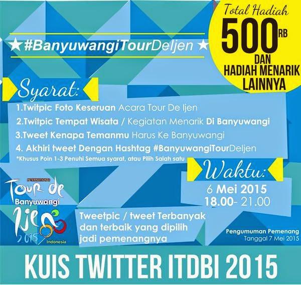 Kontes Banyuwangi Tour De Ijen Berhadiah Total 500K
