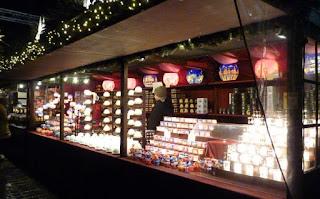 Mercado Navideño de Edimburgo.