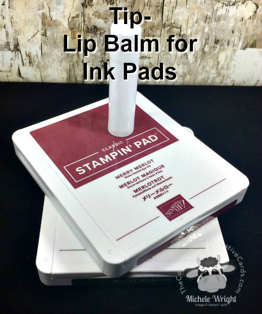 Tip, Lip Balm, Ink Pads, Stampin Up