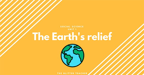 The Earth's relief study unit