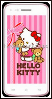 Harga HP Evercoss A7S Hello Kitty