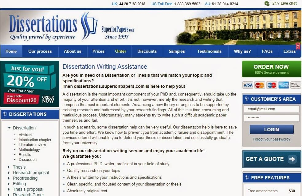 UK-Dissertation.com Dissertation Writing Service Picture