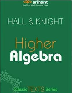 Higher Algebra By Hall & Knight