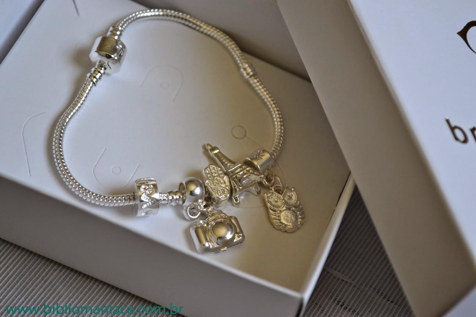 cb9c95ce034 Os berloques e charms tanto da Vivara quanto da Pandora entram na pulseira  Braccialetto