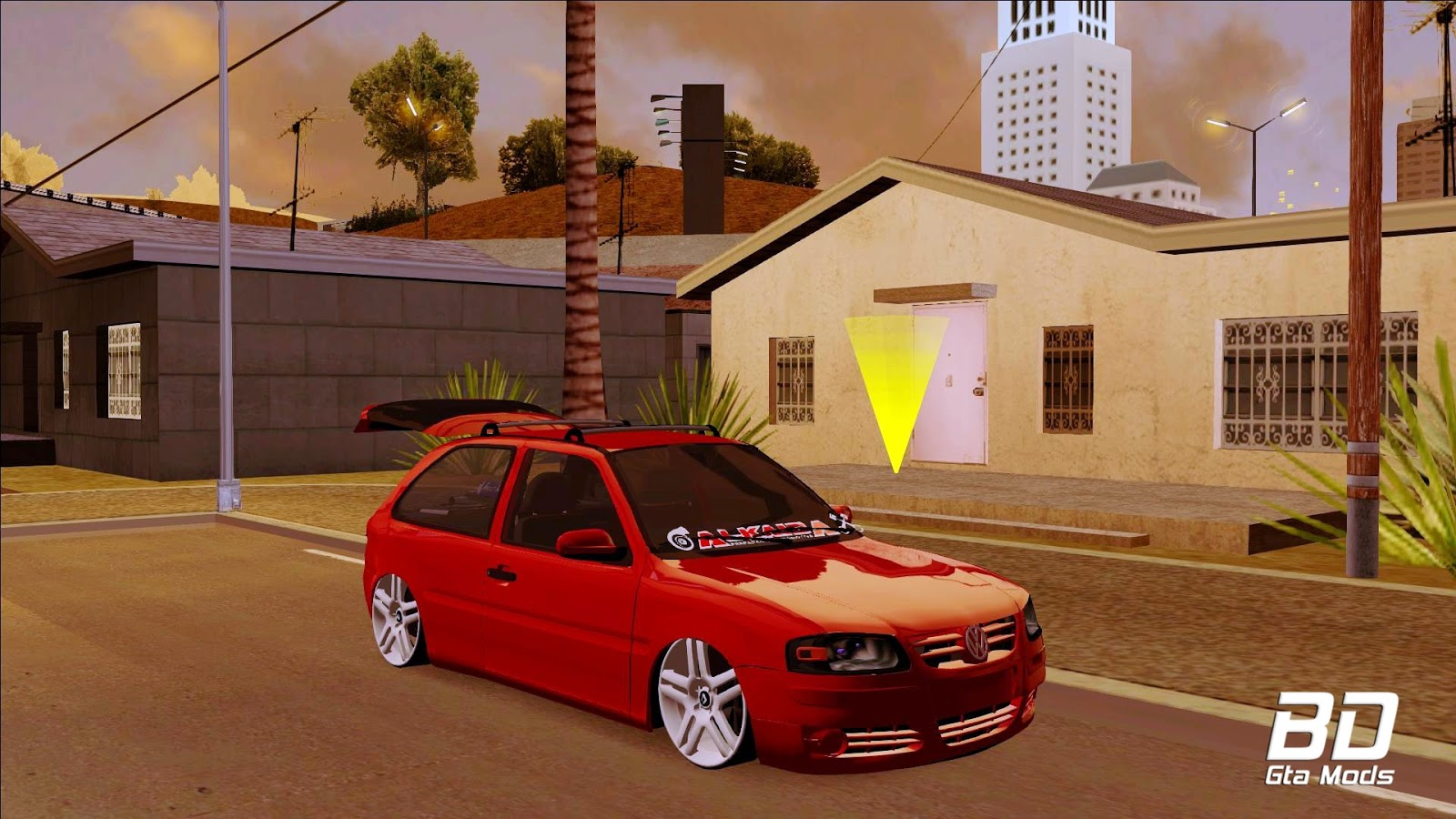 Download mod carro Gol G4 [Mdpm v5] - GTA San Andreas  PC