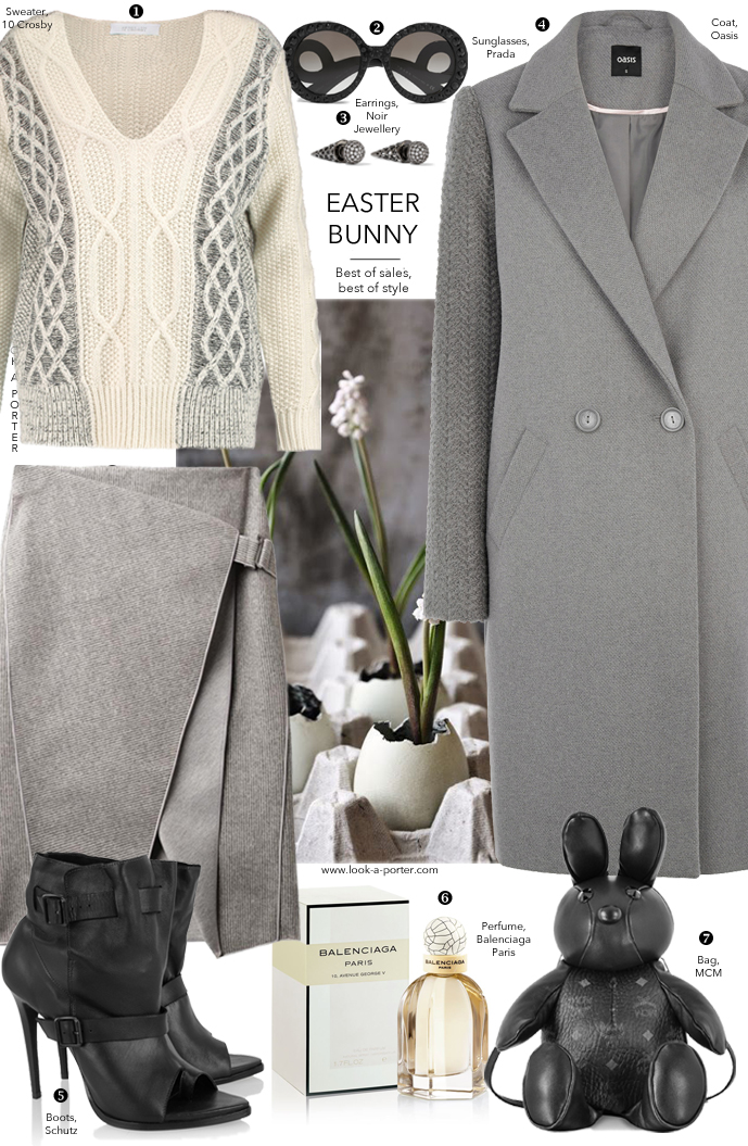Dressing up for Easter - a style outfit idea via www.look-a-porter.com style & fashion blog / Love, style, wear / Outfit inspiration daily