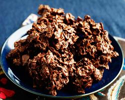 Cara Membuat Kue Kering Corn Flakes Choco Cookies ala Resep Praktis