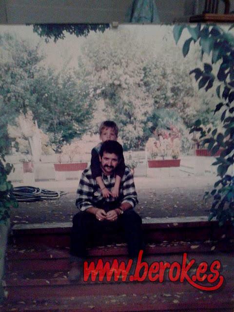 fotografía de padre e hijo