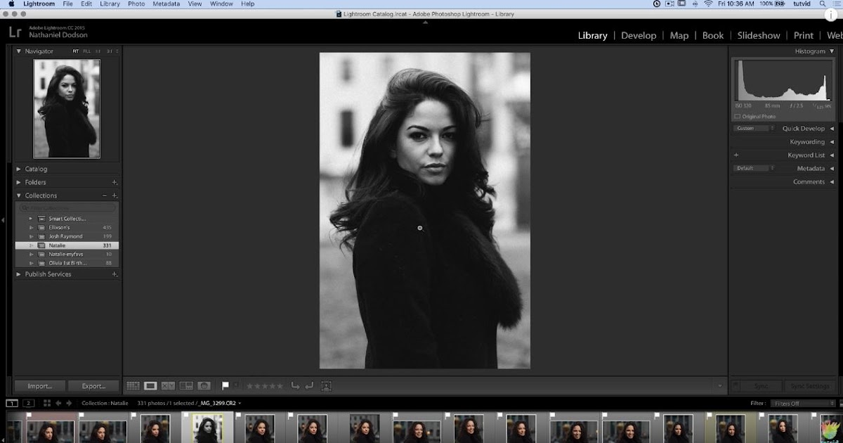 Roundtrip Lightroom to Photoshop Editing Workflow