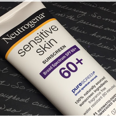 Review of the Neutrogena Sensitive Skin Sunscreen Mineral-based sunblock
