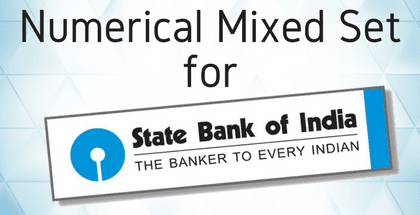 Numerical Mixed Set for SBI Clerk