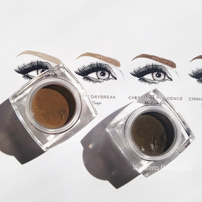 Plume Nourish and Define Brow Pomade Ashy Daybreak Chestnut Decadence Review