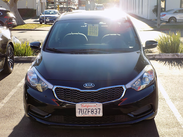 2015 Kia Forte after auto body repairs at Almost Everything Auto Body.