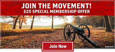 Membership Opportunity: $25 to Join the Movement to Save Hallowed Ground