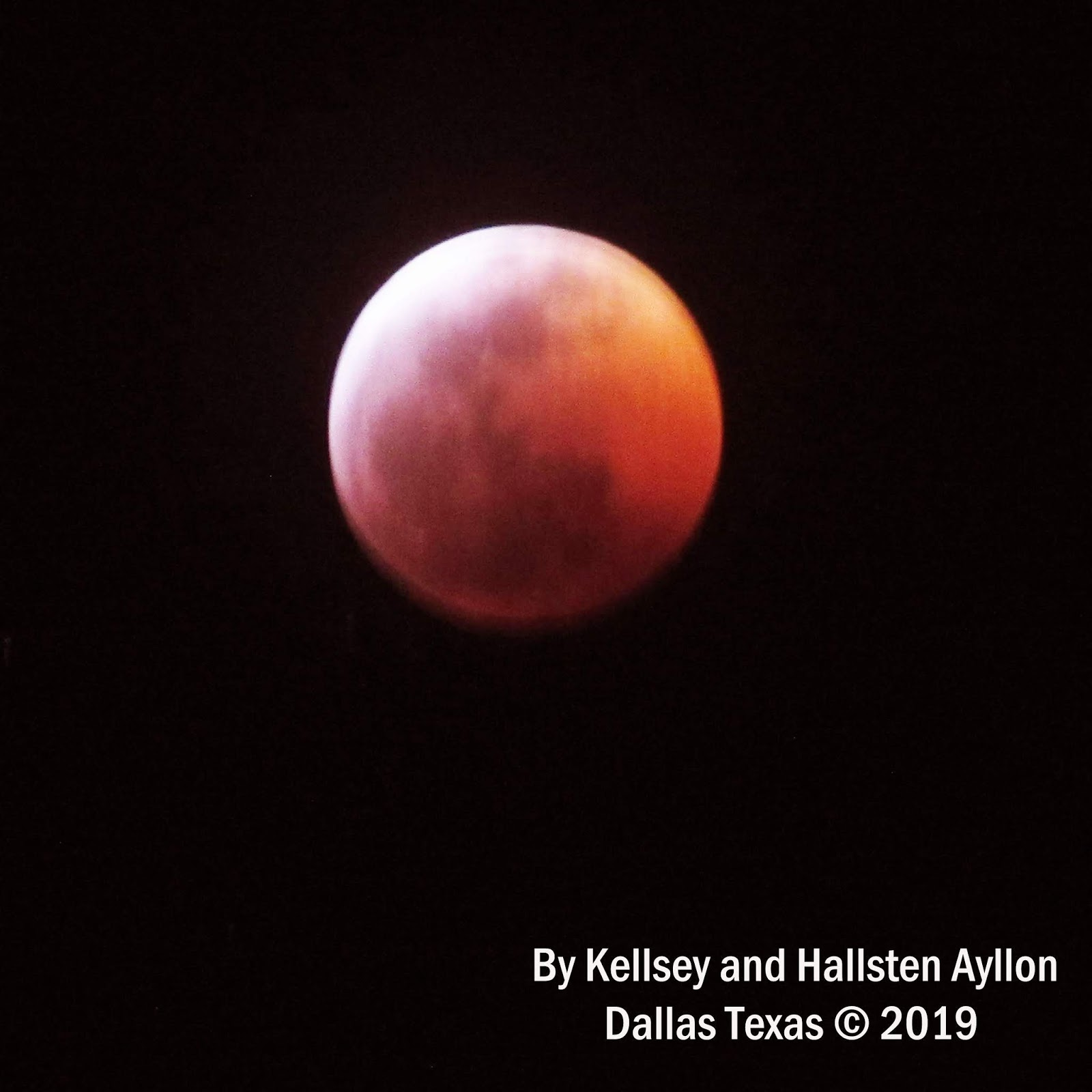 blood moon january 2019 dallas tx - photo #18
