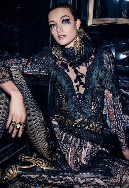 Fashion Model, @ Yumi Lambert by Jem Mitchell Vogue China, June 2016