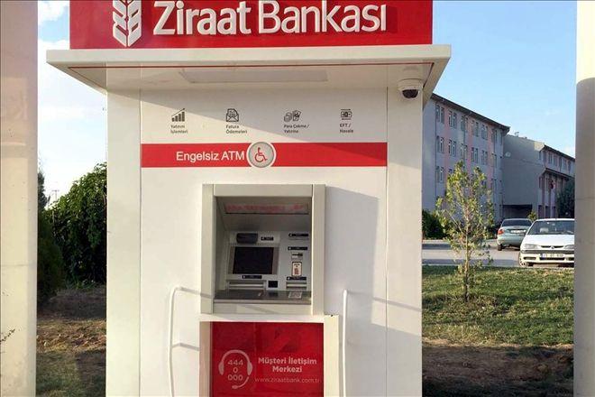 Ziraat Bankası ATM'lerinden para yatırma özelliği