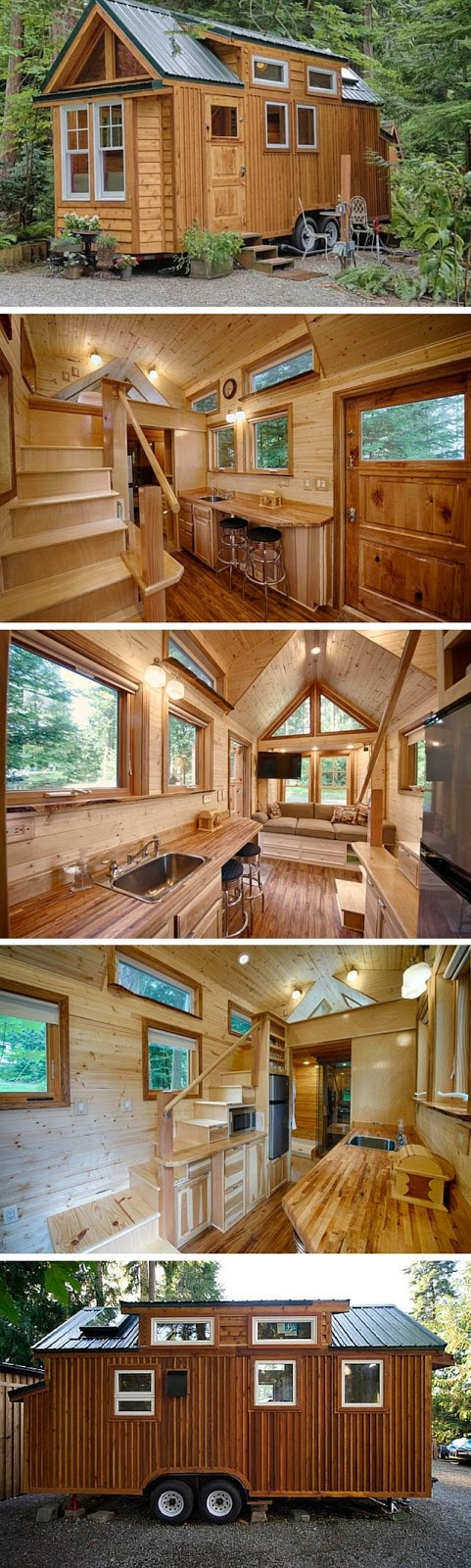 Tiny Homes Cabin Kit