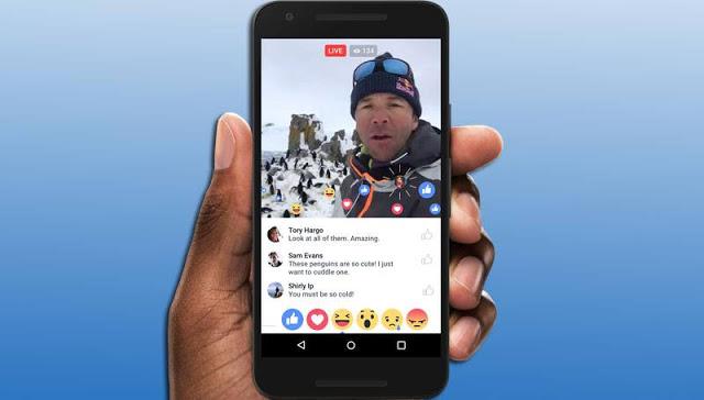 فيسبوك سوف يقرر من يمكنه من المستخدمين عمل بث مباشر