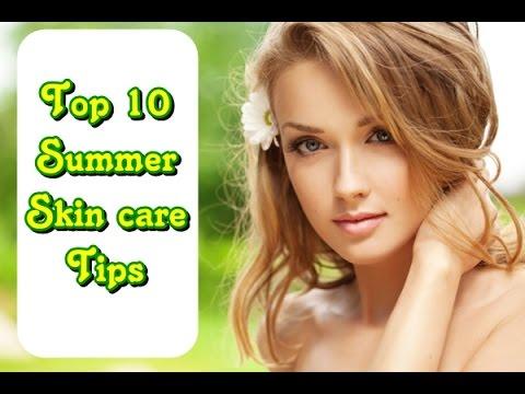 أفضل 10 نصائح للعناية ببشرتك خلال فصل الصيف