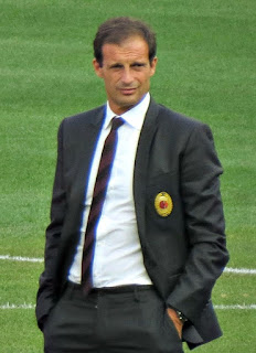 Massimiliano Allegri led Juventus to three consecutive league and cup doubles