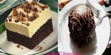 Resep dan Cara Membuat  Brownies Puding Cake