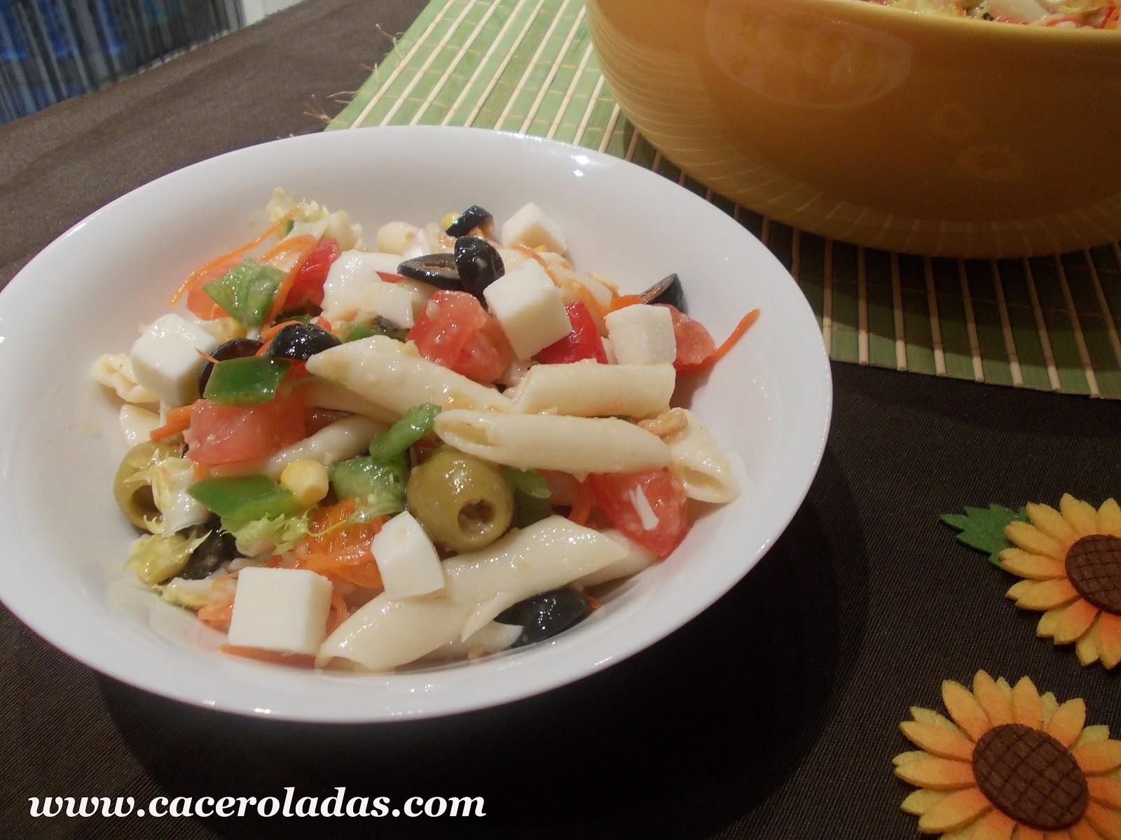 ensalada de macarrones