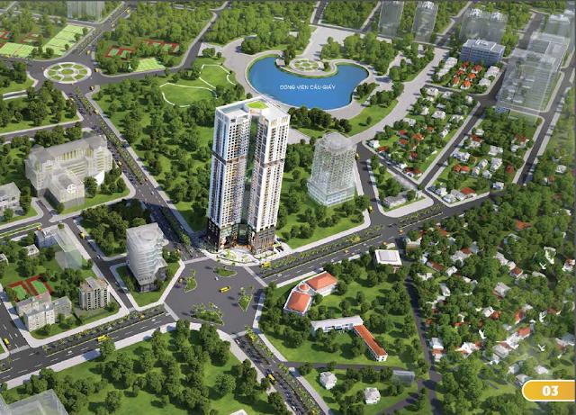 Dự án Luxury Park Views Cầu Giấy
