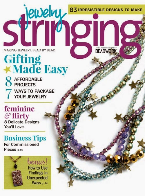 Featured in Stringing Magazines Bead Beat