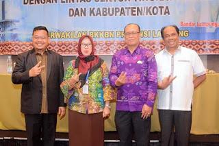 Kepala BKKBN Lampung,Buka Pemanduan Serta Lintas Sektor