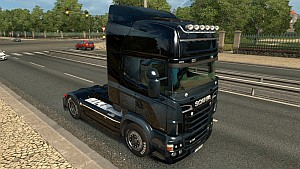 Blue and Dark Skin for Scania RJL