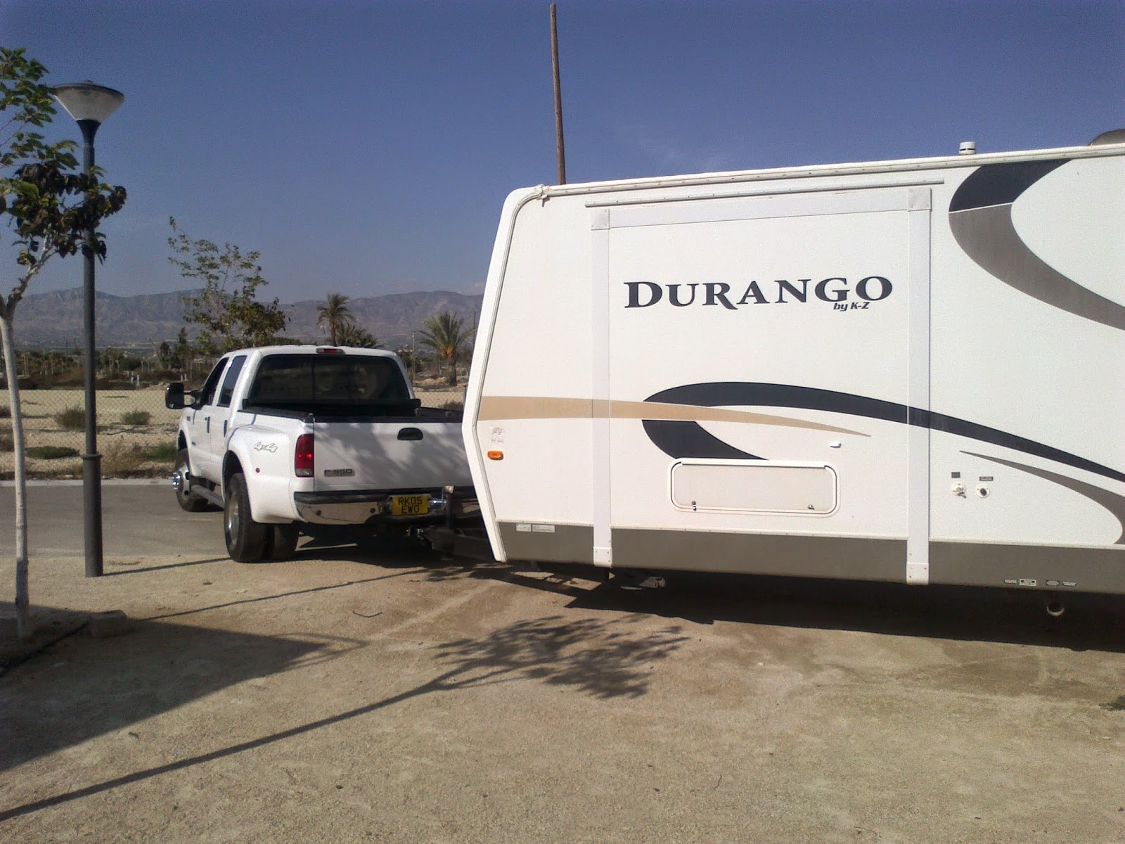 5th wheel and caravan storage, Alicante, Costa Blanca, Spain