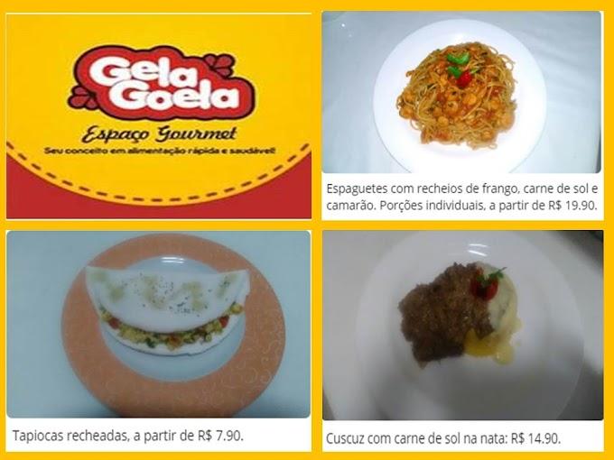 Gela Goela Gourmet: sua opção em alimentação rápida e saudável.