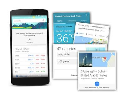 Hal yang dapat Anda tanyakan pada Google Now