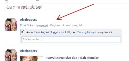 Cara Buat Status Facebook Kosong