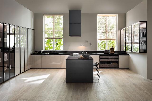 Soluzione di design per arredare l'open space con Dada cucine e SADG'80