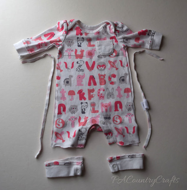 Baby Clothes Memory Bear Pattern and Tutorial | PA Country ...