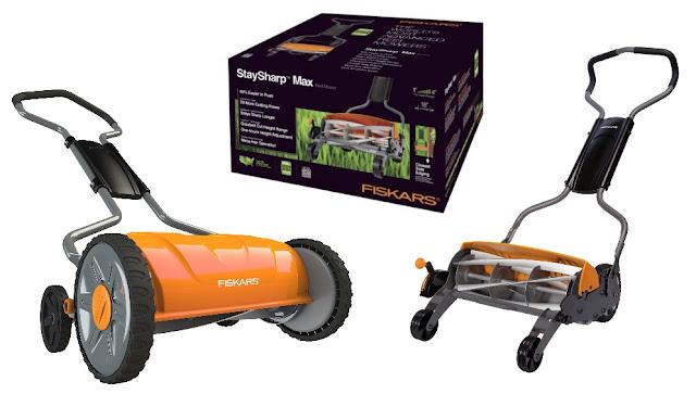 Fiskars 6201 Lawn Mower: &%^ Fiskars 6201 18-Inch Staysharp