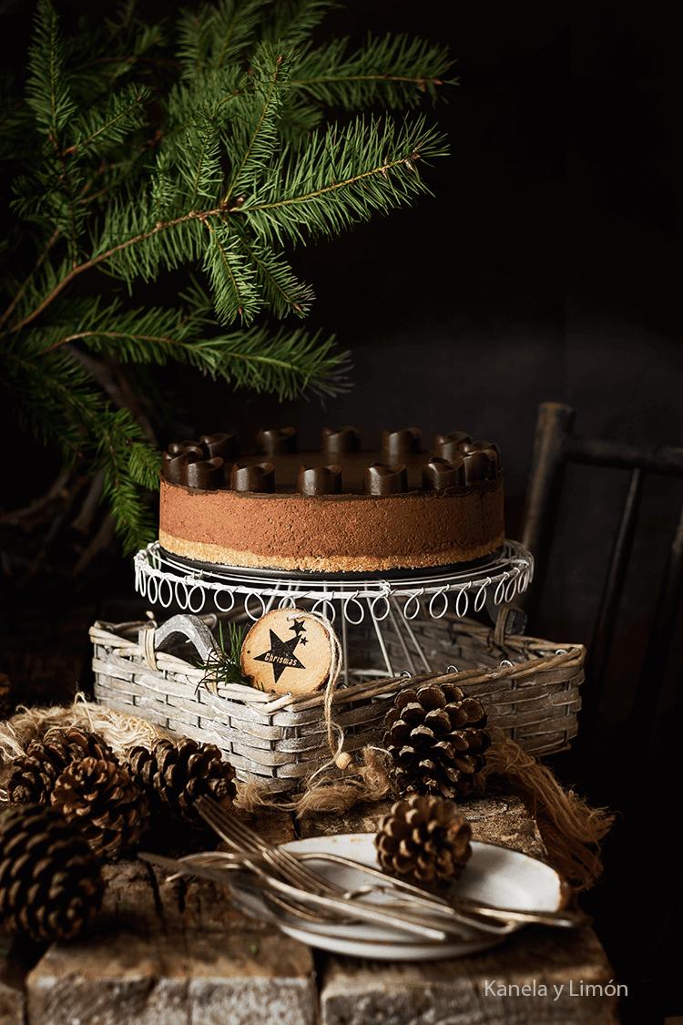 10 recetas para triunfar en navidad- tarta chocolate