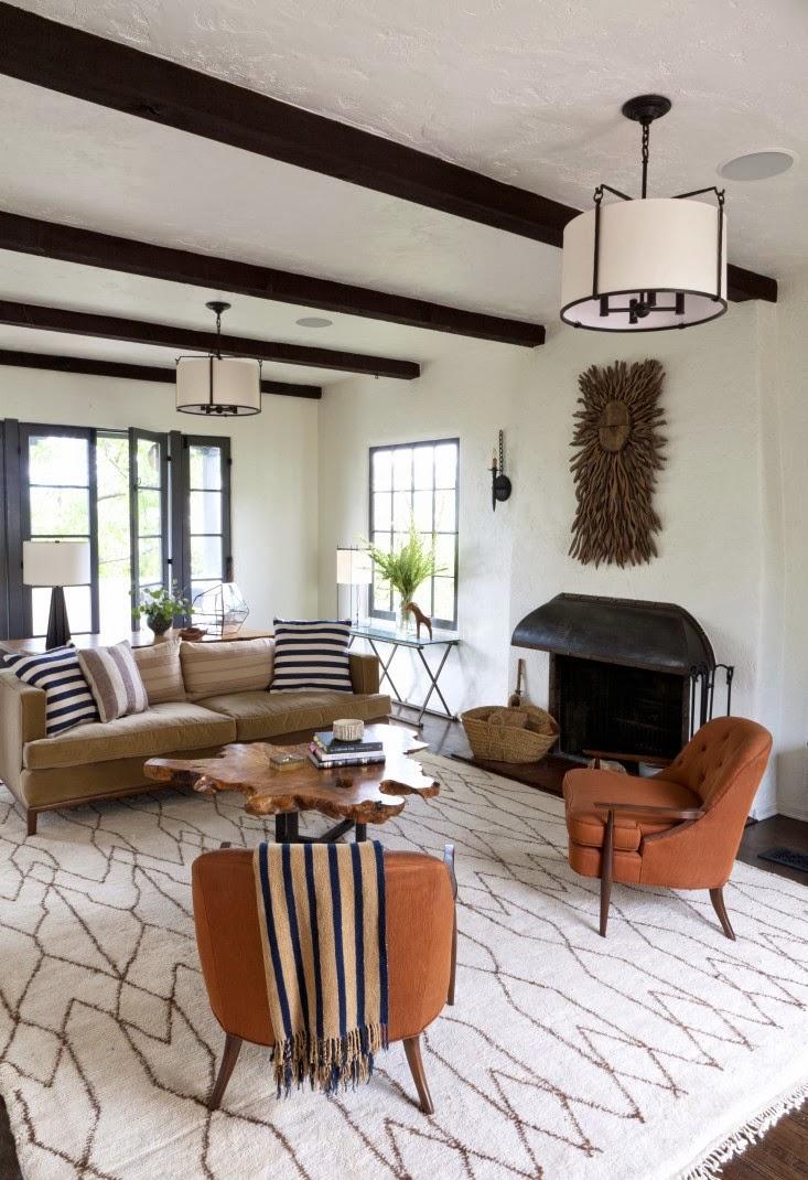 Modern palm boutique la spanish colonial revival redo - Contemporary colonial interior design ...
