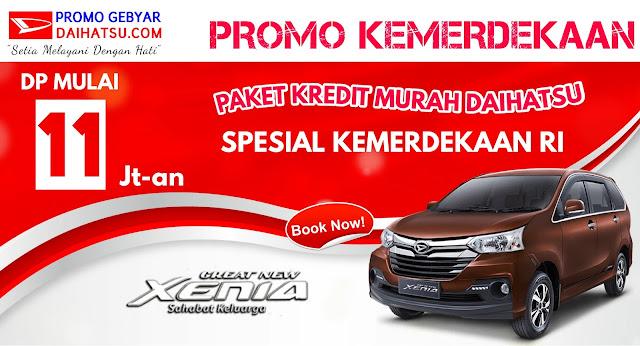 Promo Daihatsu Xenia - Spesial Promo Kemerdekaan Agustus 2017