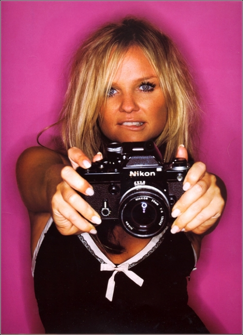 Celebrity Portraits with Vintage Nikon Cameras   La Oddee