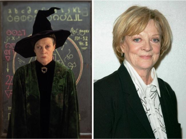 Minerva McGonagall interpretado por Maggie Smith