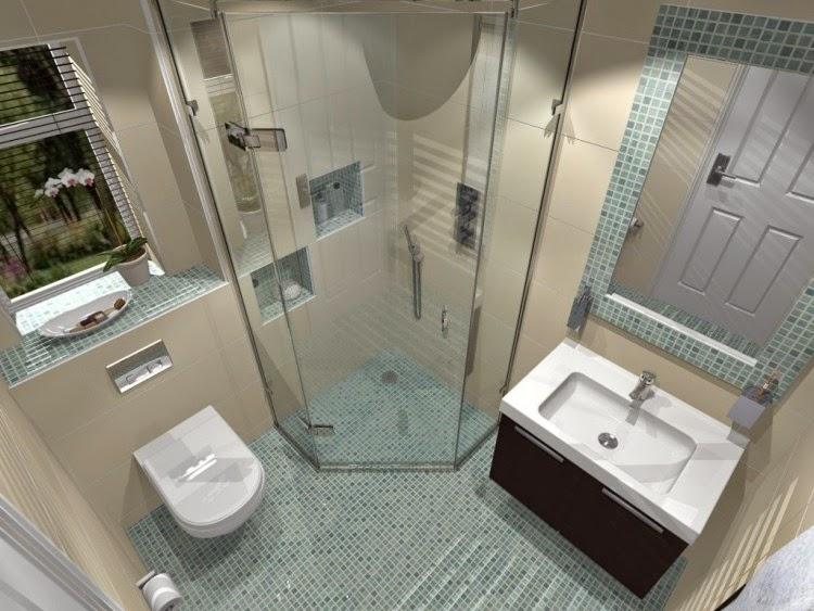 Baños modernos pequeños - Colores en Casa