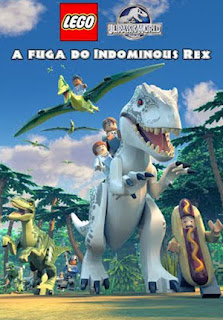 LEGO Jurassic World: A Fuga do Indominous Rex - HDRip Dual Áudio