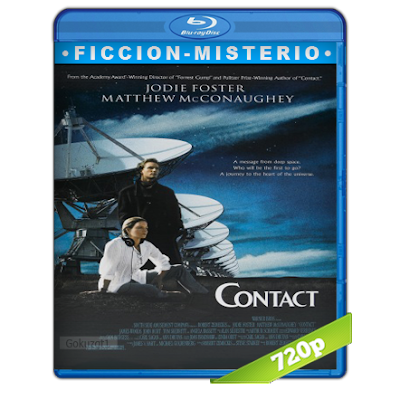 Contacto (1997) BRRip 720p Audio Trial Latino-Castellano-Ingles 5.1