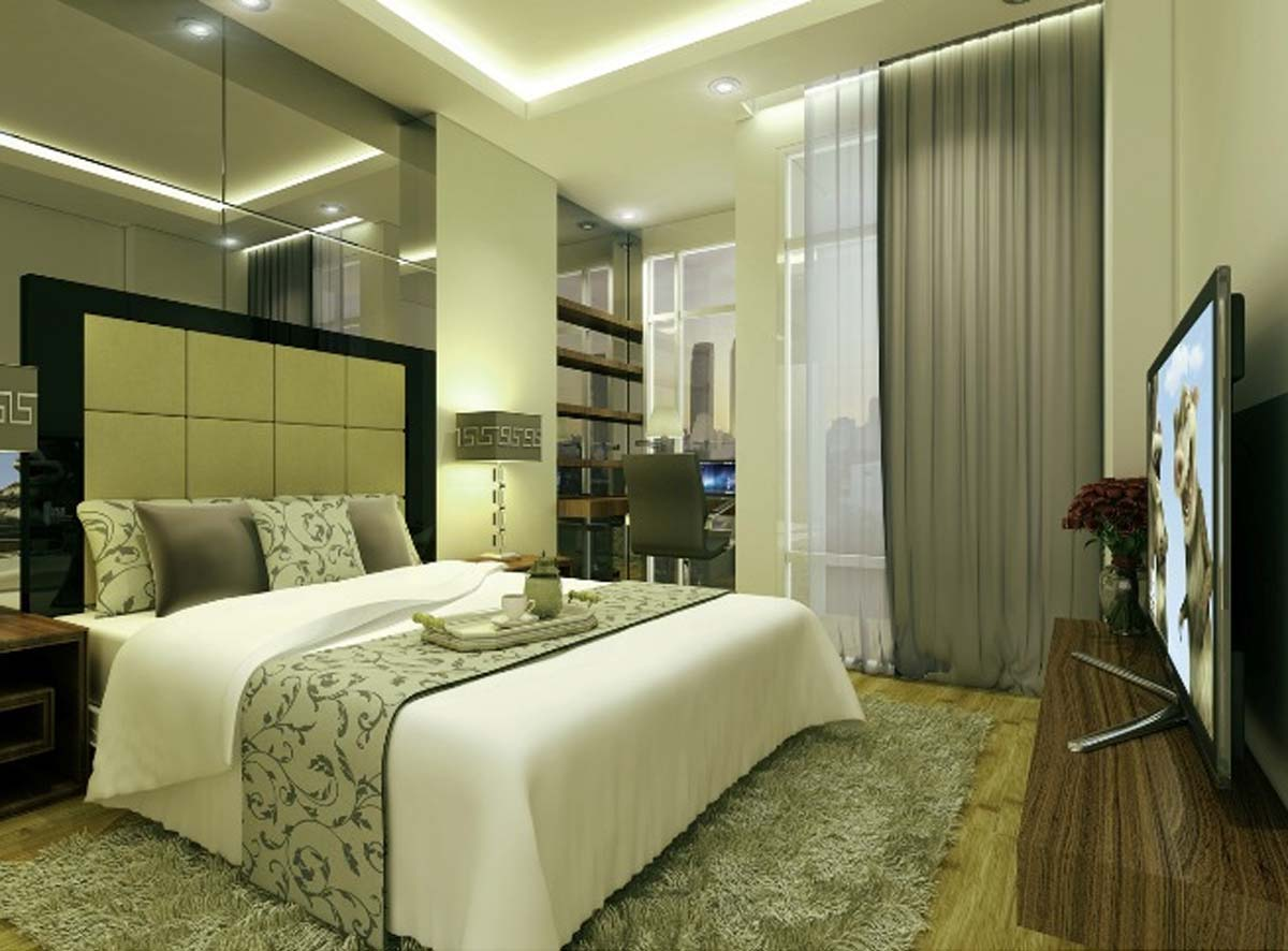 25 desain kamar tidur minimalis ukuran 3x4 - karya minimalis