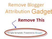 Cara Menghapus Diberdayakan oleh Blogger untuk Pemula