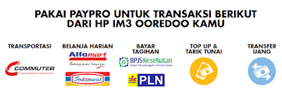 Kegunaan PayPro Indosat Indonesia