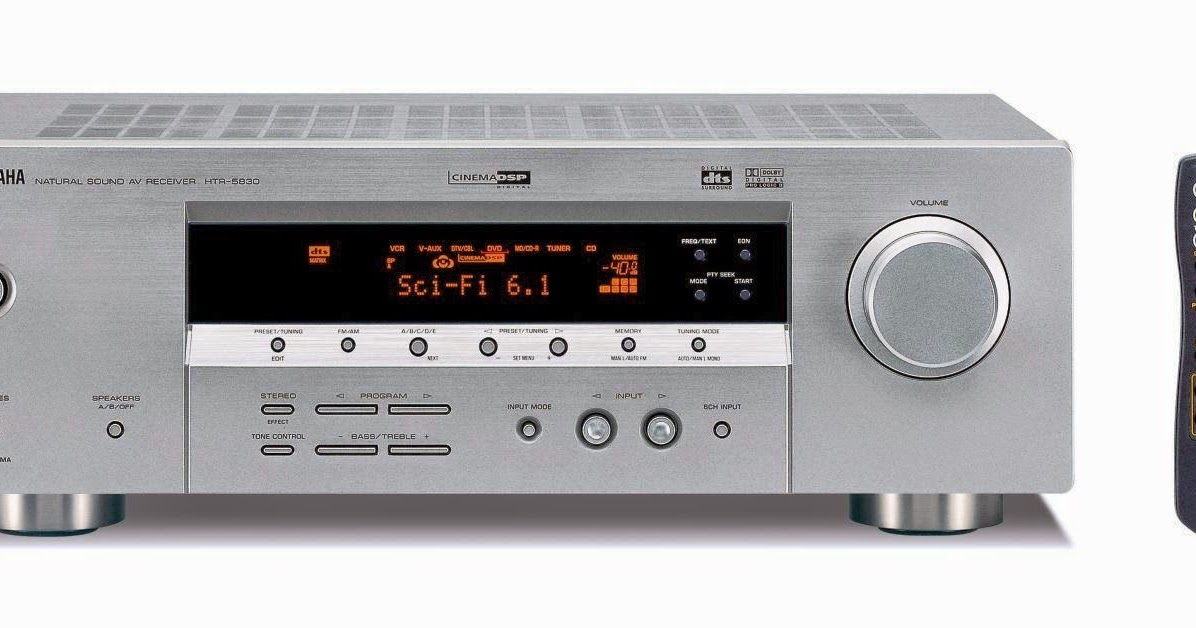 Denon receivers manual Tuning